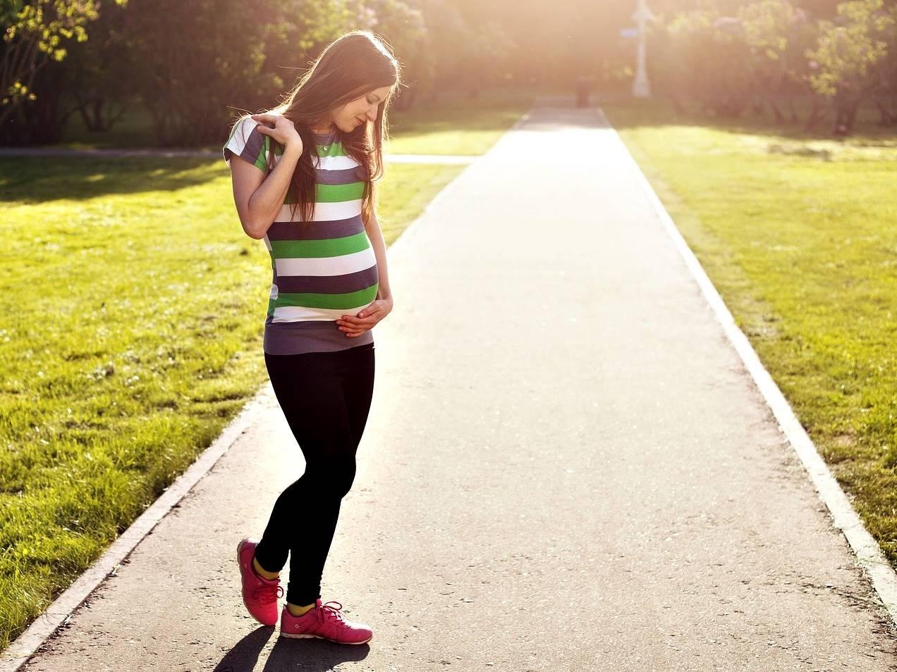 פעילות גופנית והיריון